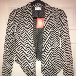 MOON Black & White Blazer